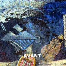 "Restauration de tableau d'un casque ""avant"" Labrat Art Painting"